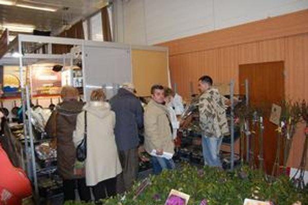 Výstava. Každoročne láka mnoho návštevníkov.
