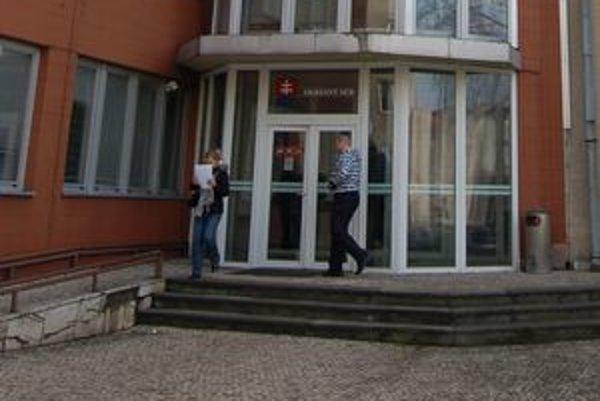 Prešovský okresný súd. Od piatka je bez predsedu.