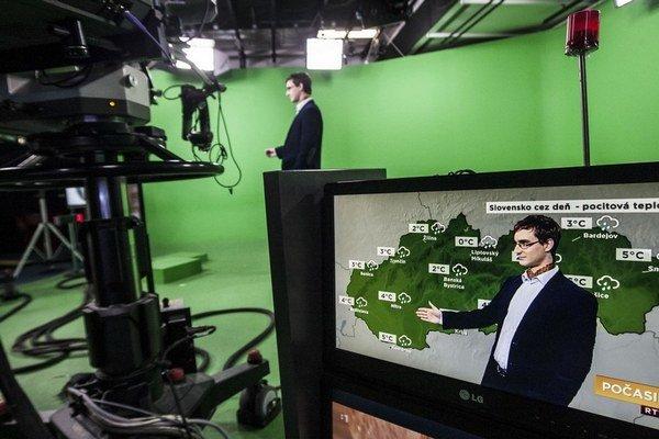 Takto pripravujú predpoveď pre RTVS.