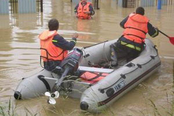 Povodne. Obyvatelia Hanisky ešte nezabudli na rok 2006.