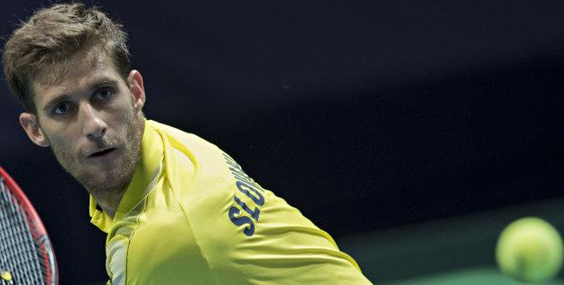 Kližan ešte nevie či Slovensku pomôže v najbližšom zápase Davisovho pohára.