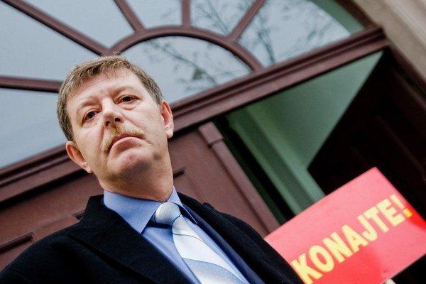 Bývalý minister životného prostredia za Slovenskú národnú stranu Ján Chrbet.