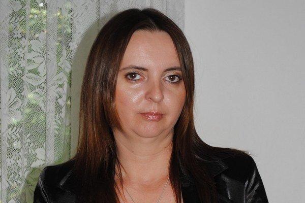 Primátorka Čiernej nad Tisou.
