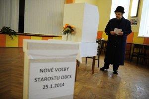 Voľby v Bačkove.