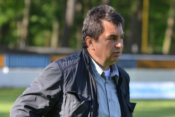 Vladimír Rusnák. Kormidelník Slavoja Trebišov.