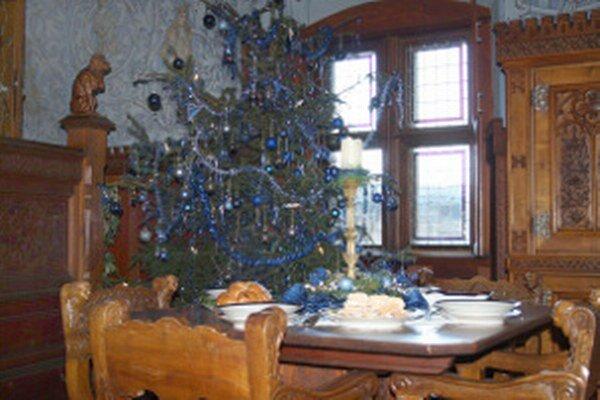 Vianoce na bojnickom zámku.