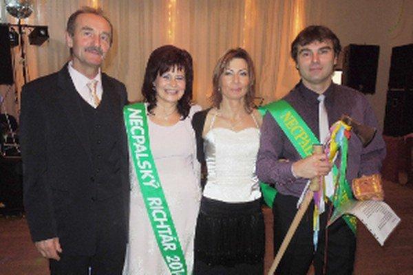 Pre rok 2015 sa novým richtárom v Necpaloch stal Rastislav Petráš (vpravo).