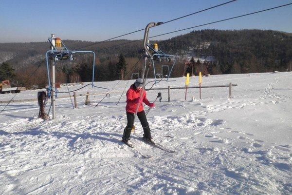 Renčišov-Búče. Minulý rok o takom čase mali stredisko plné lyžiarov.