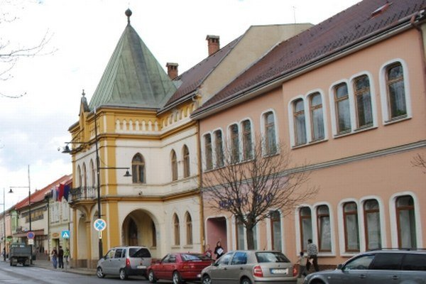 Mestský úrad v Sabinove.