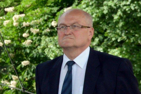 Primátor Sabinova Peter Molčan.