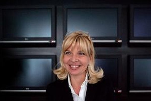Zuzana Ťapáková vo svojej kancelárii v roku 2011.
