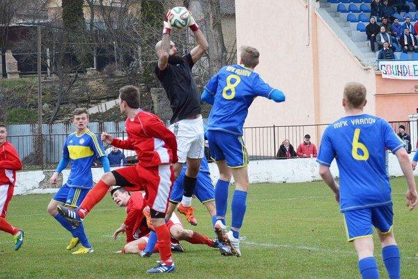 Súboj Sabinova sVranovom. Rozhodol jediný gól.