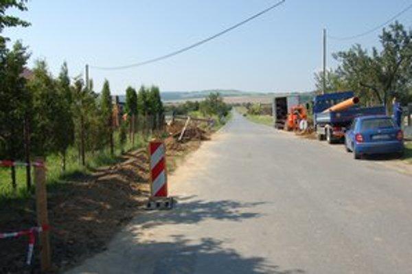Levočská ulica. Plánuje sa tam budúca výstavba bytov a domov.