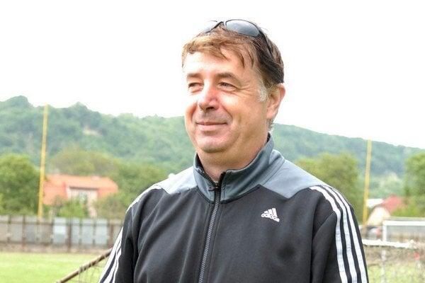Pavol Šaršala. Tréner Sabinovčanov.