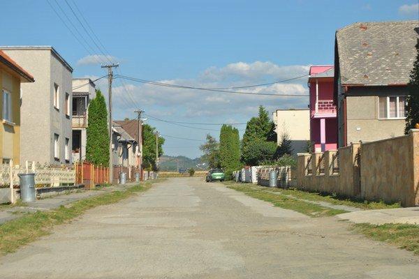 Záhradná ulica. Rozkopaná bola trikrát.
