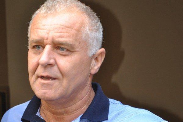 Náčelník mestskej polície Ľubomír Semaník.