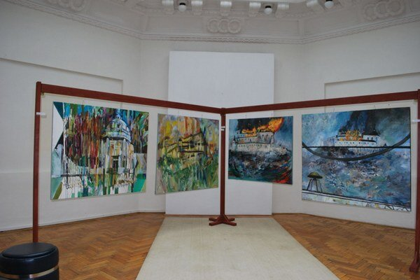 Nové diela Neupauera. Do 14. júna pobudnú v historickej obrazárni.
