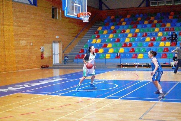 Hráčka a budúca trénerka Aurélia Pistikidis.