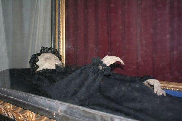 Múmia Žofie Serédy.