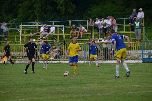 Prvý gól. Ákos Lippai si vdrese MFK Rožňava zapísal prvý gól.
