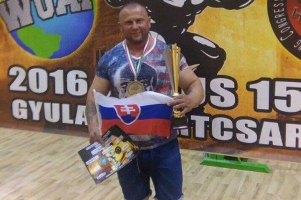 Majster Európy. Ondrej Hudák získal už štvrtý titul majstra Európy.