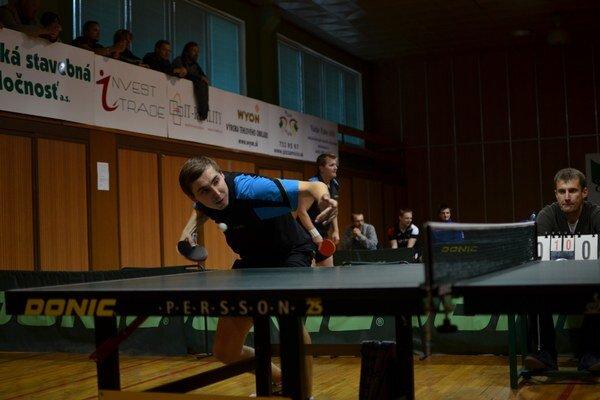 Jednotka. Martin Gumáň, rožňavská jednotka, zatiaľ prehral len v dvoch zápasoch.