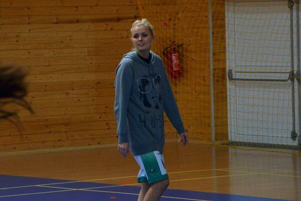 Znova v zostave. Prvýkrát v tejto sezóne sa v zostave MBK Región Rožňava objavila aj Radka Deckerová a bolo to poznať.