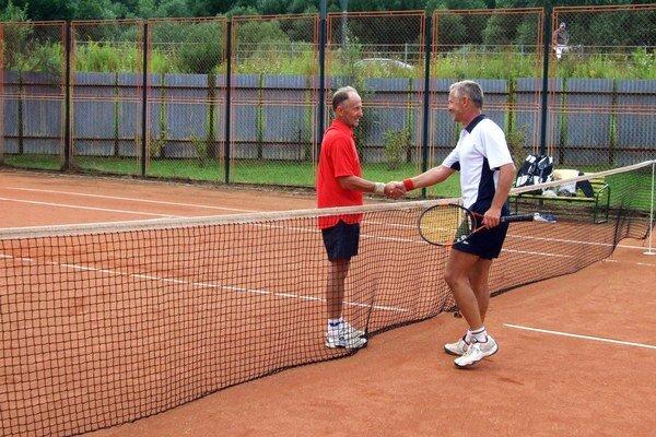 Z. Karpáty (vľavo) a M. Matejovský sa počas trvania turnaja stretli vo finále viackrát. Napríklad aj v roku 2008.