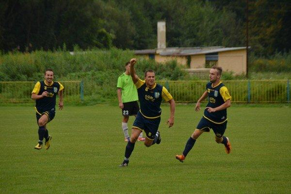 Radosť. O druhý gól sa krásnou strelou postaral Matúš Mészner.
