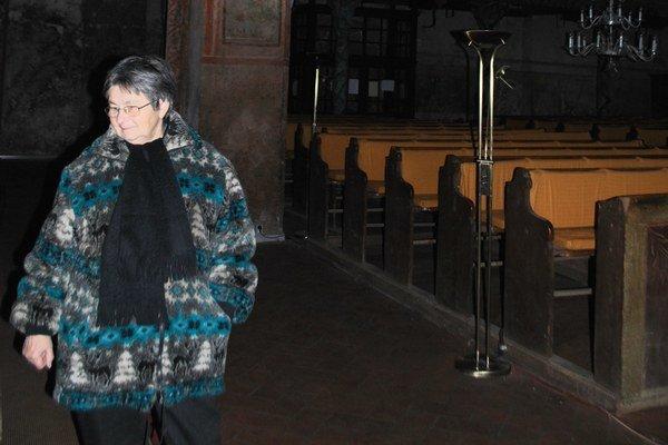 Kostol v Štítniku. Patrí k významným pamiatkam Gotickej cesty v Gemeri.