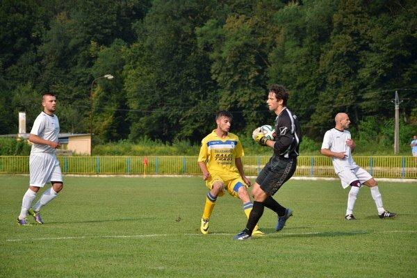 Na svojom mieste. V Slovnaft cupe nedostal L. Šalamon v žiadnom zápase viac ako jeden gól.