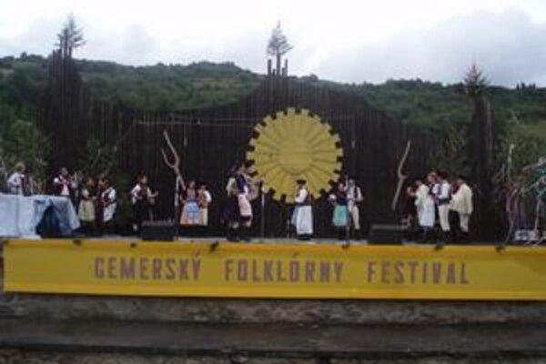 Gemerský folklórny festival sa začne už dnes.