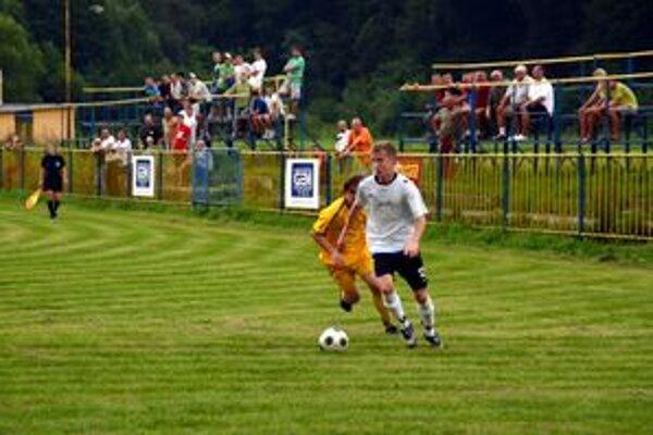 Druhý gól. Druhý gól Rožňavy v tejto sezóne dal Peter Sappanoš.