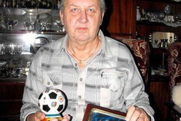 Oddaný futbalu. Alexander Kerekeš žije už takmer polstoročie s futbalom.