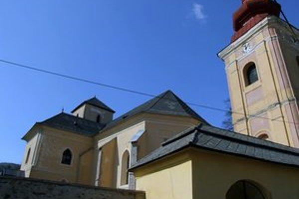 Kostol v Ratkovej.
