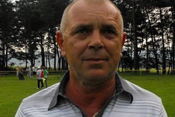 Predseda a tréner Jozef Emödi.