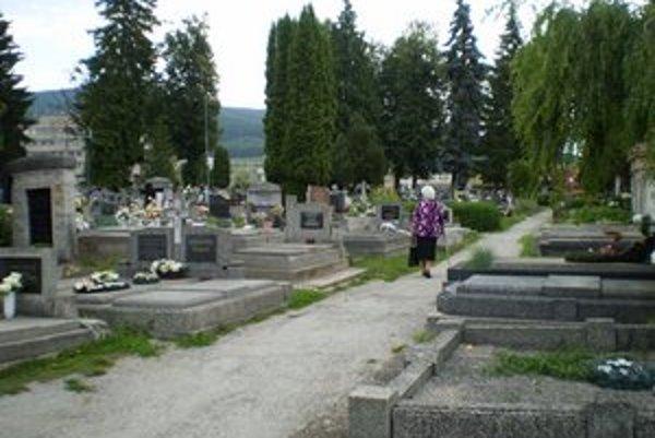 Rožňavský cintorín. Zákaz vodenia psov sa nepripravuje.