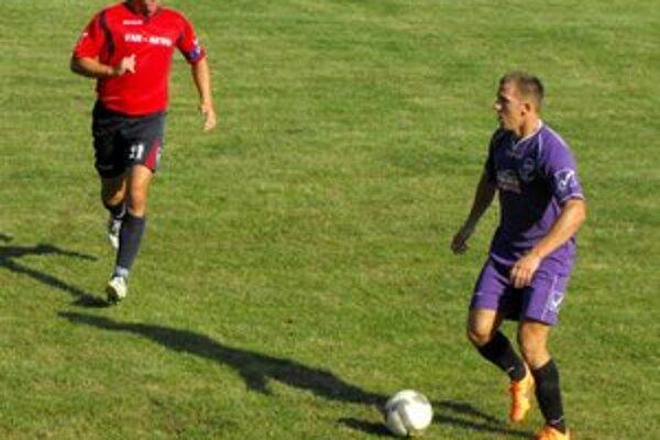 Márny boj. Matúš Mészner v zápase bojoval, ale víťazstva svojich farieb sa nedočkal.