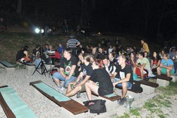 Návštevníci. Vyše tisíc ľudí zavítalo počas dvoch mesiacov do letného kina.