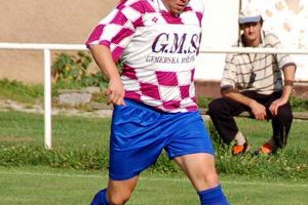 Prikrášlil výsledok. Ladislav Lörincz pridal v závere tretí gól Gemerskej Polomy.