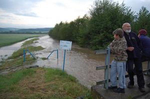 Veľké voda pri Bretke.