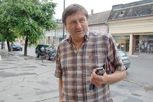 Ján Marcinek. Novozvolený prednosta Mestského úradu v Tornali.