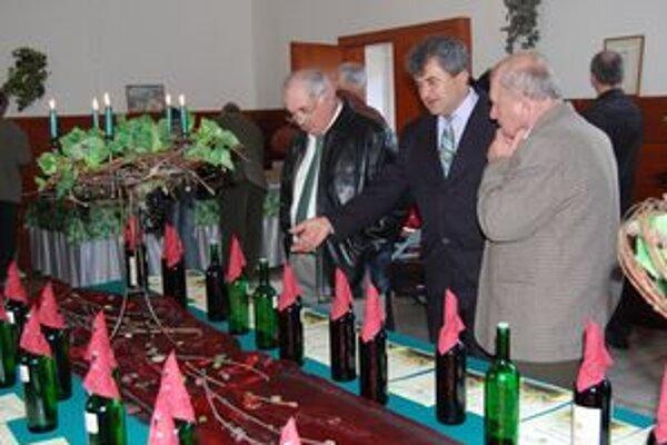 Vinári. Debatovali o pestovaní viniča a o výrobe vína.