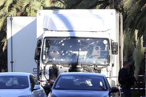 Vodiča dodávky zneškodnila polícia.