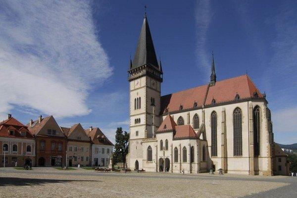 Bardejov. Historické centrum.