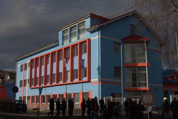 Hasičská stanica. Zrekonštruovali ju za 1,2 milióna eur.