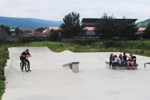 Skatepark. Kedy bude hotový?
