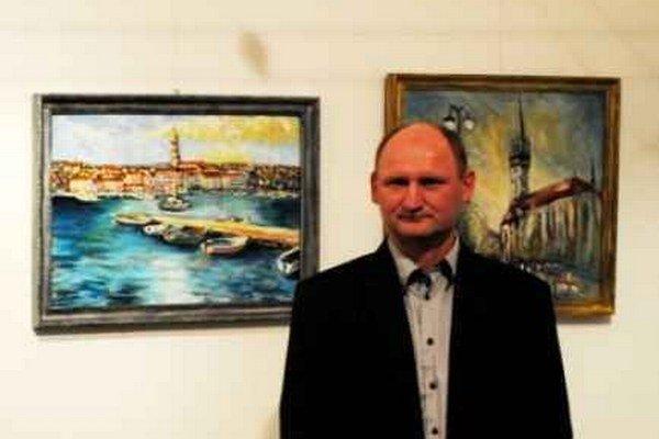 Výtvarník Viliam Volk.
