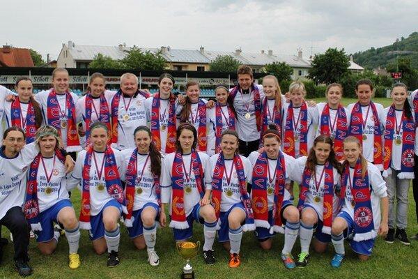 Víťazky druhej futbalovej ligy žien. Futbalistky Partizána majú za sebou úspešnú sezónu.