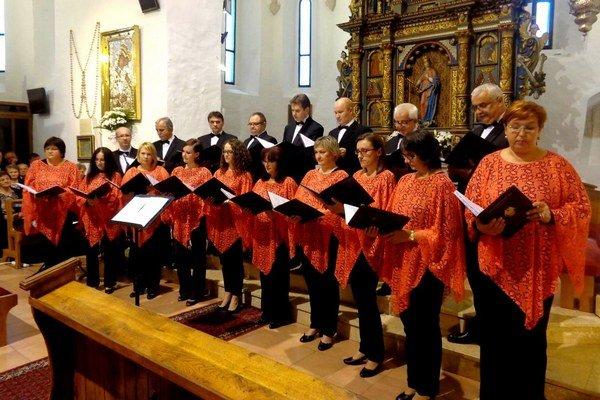 Prehliadka zborov v Kostole sv. Margity Antiochijskej.